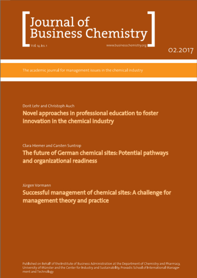 Journal of Business Chemistry February 2017