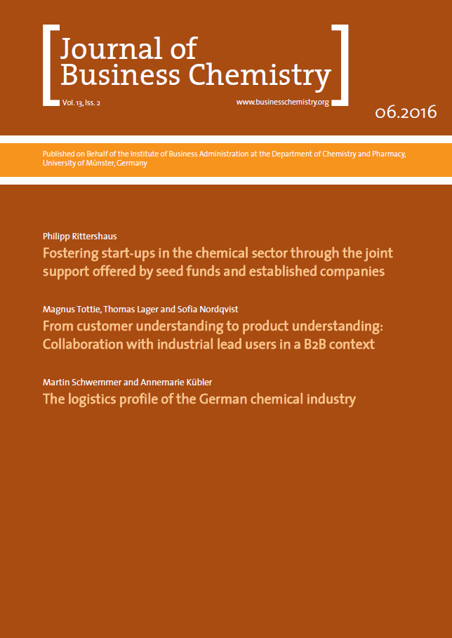 Journal of Business Chemistry June 2016