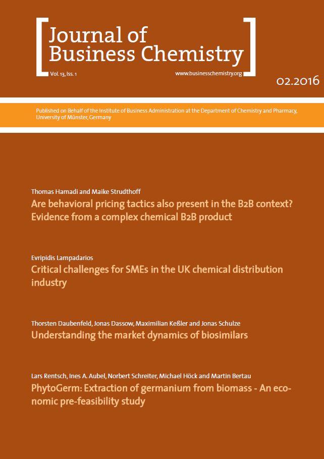 Journal of Business Chemistry February 2016